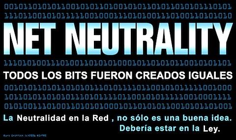 NEUTRALIDAD REDES WEB
