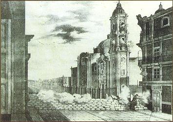 REBELION DE LOS POLKOS FRENTES A LA pROFESA 1847