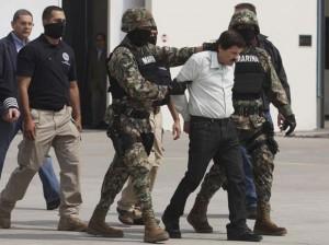 """Mexican Drug Dealer Joaquin """"El Chapo"""" Guzman is Captured in Mexico"""
