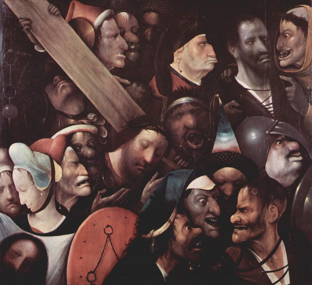 Cristo con la cruz a cuestas (El Bosco)