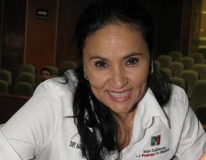 La dirigente estatal del PRI (Foto: internet).