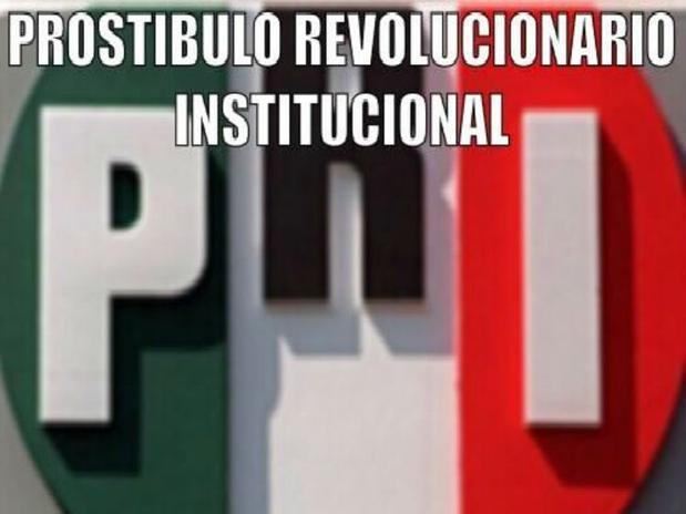 institucional Revolucionario prostíbulo