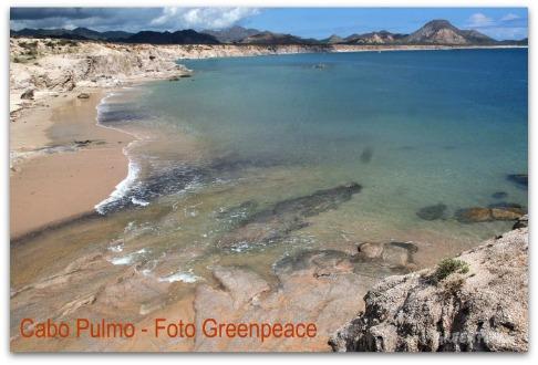 CABO PULMO GREENPEACE