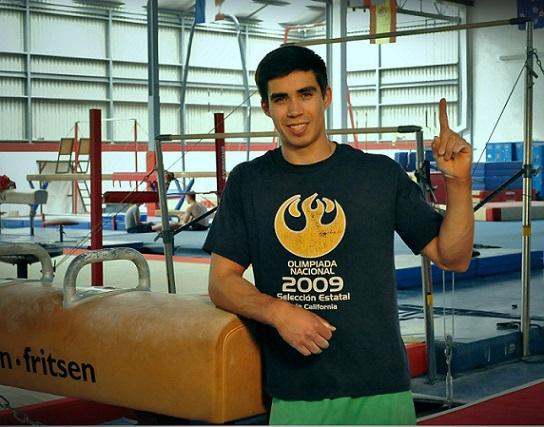 El gimnasta Daniel Corral, gloria deportiva de Ensenada a nivel mundial (Foto: XXI Ayuntamiento Ensenada).