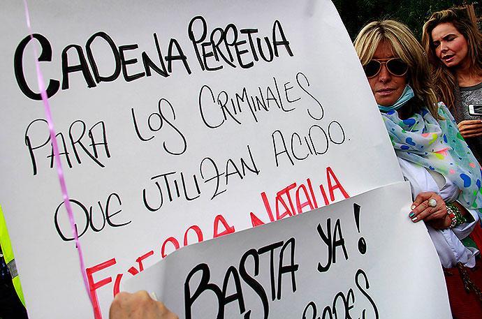 ACIDO PROTESTA COLOMBIA