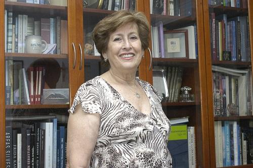 La doctora Julieta Quilodrán Salgado, investigadora de El Colegio de México e integrante de la Academia Mexicana de Ciencias (Foto: Elizabeth Ruiz Jaimes).