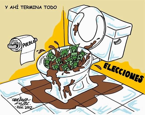 ELECCIONES CORRUPCION CARTON