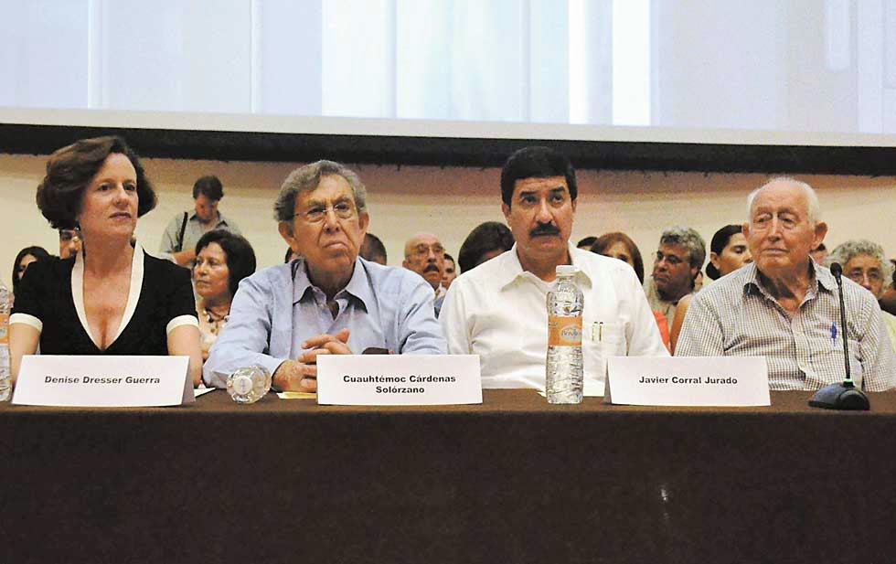 Dresser, Cárdenas, Corral, Álvarez, algunos de los protagonistas y convocantes del Frente (Foto: internet)