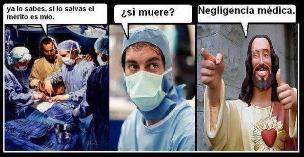 NEGLIGENCIA MEDICA DIOS