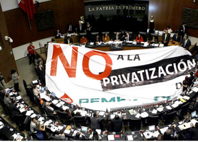 NO PRIVATIZAR MANTA CONGRESO