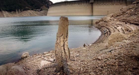 La presa López Zamora, sin agua y azolvada en un 67 por ciento de su capacidad (Foto: Archivo).