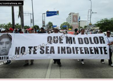 MARCHA NO INDIFERENCIA AYOTZINAPA
