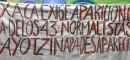 NORMALISTAS AYOTZINAPA OAXACA APOYO
