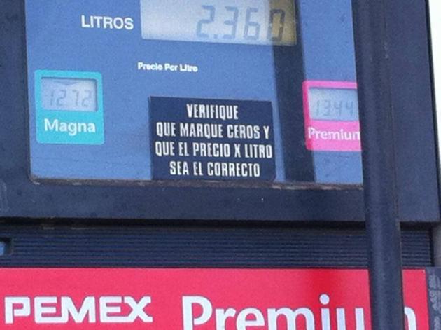 BOMBA GASOLINA PRECIOS