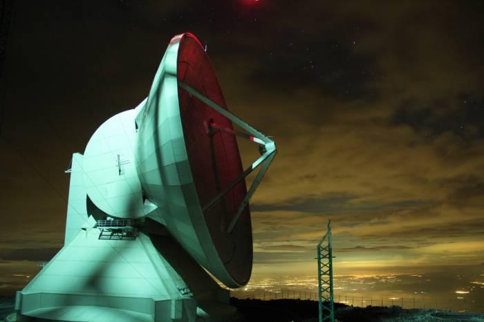 GRAN TELESCOPIO MEXICO NOCHE