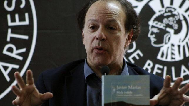 JAVIER MARIAS PRESENTA LIBRO