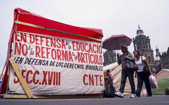 CNTE NO REFORMA EDUCATIVA