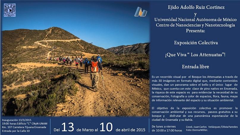 EXPO ATTENUATAS UNAM