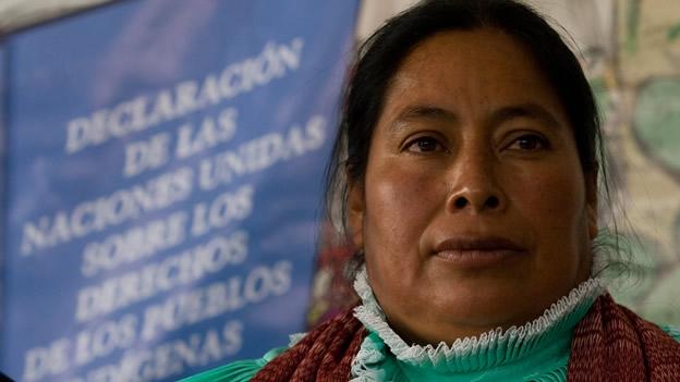 La indígena otomí Jacinta, una de las víctimas del nefasto ex procurador Medina Mora (Foto: internet).