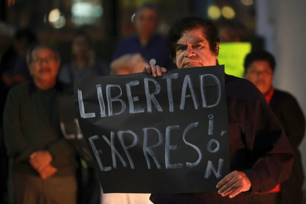 LIBRE EXPRESION PROTESTA