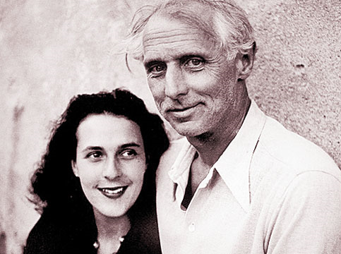 Carrington y Ernst: los buenos tiempos (Foto: internet).