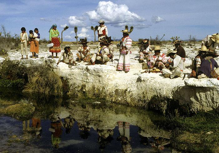 Los pueblos huicholes enfrentan a los grandes consorcios mineros (Foto: internet).