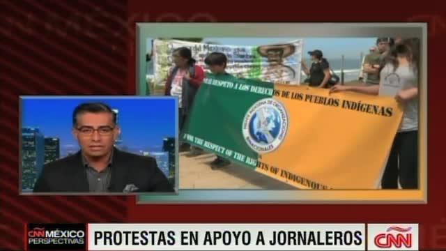 JORNALEROS PROTESTA CNN