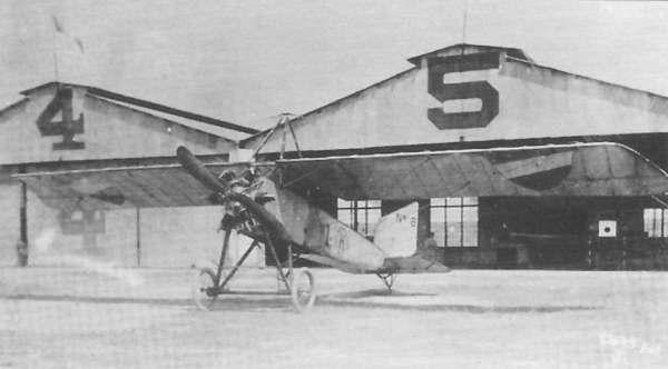 """Uno de los primeros aviones que llegaron a México a principios del siglo pasado, con la famosa hélice """"Anáhuac"""", de madera (Foto: internet)"""