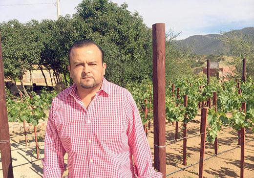 Marco Estudillo, vocero de los agroempresarios de Baja California (Foto: internet).