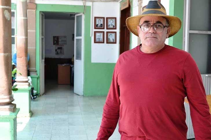 Enrque Hernámdez, en los días previos a su asesinato (Foto: internet).