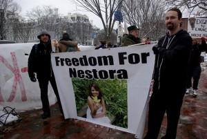 NESTORA FREEDOM PROTESTA