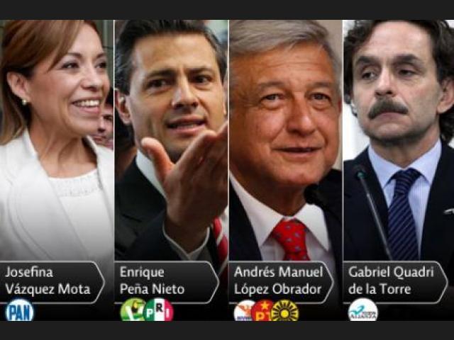 Josefina Vázquez, del PAN, en la campaña presidencial de 2012 (Foto: 20minutos.es)