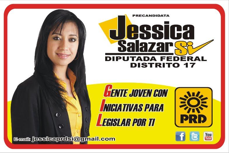 JESSICA SALAZAR PRD CANDIDATA