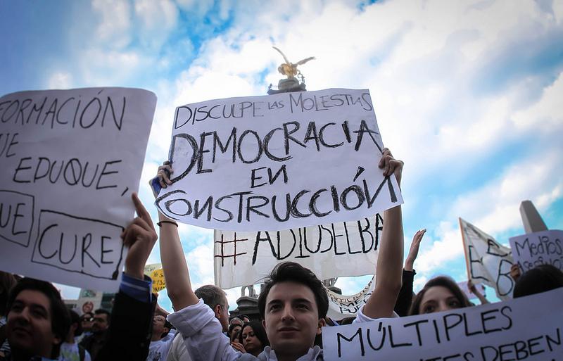 JOVENES DEMOCRACIA CONSTRUCCION