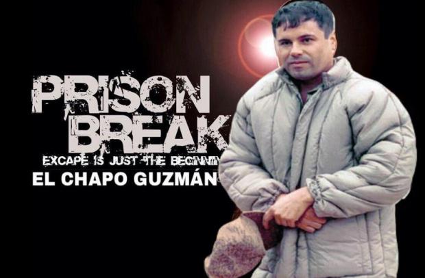 CHAPO PRISION BREAK
