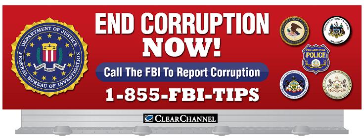FBI FIN A CORRUPCION