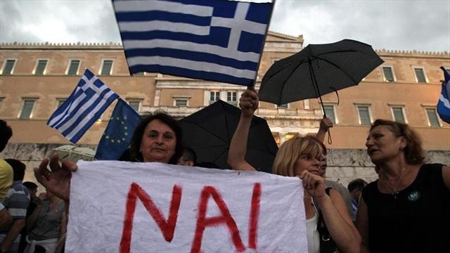 GRECIA MUJERES PROTESTA