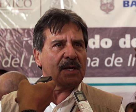 El delegado de la CDI en la península, licenciado Juan Malgamba Zentella (Foto: Códice en Línea).