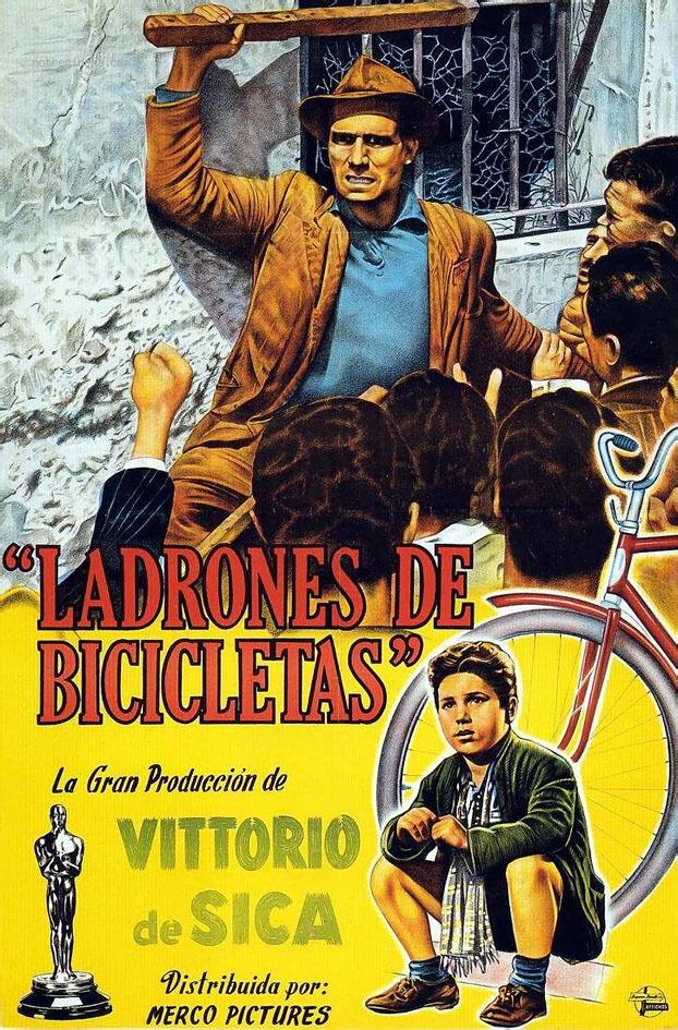 LADRON DE BICICLETAS CARTON