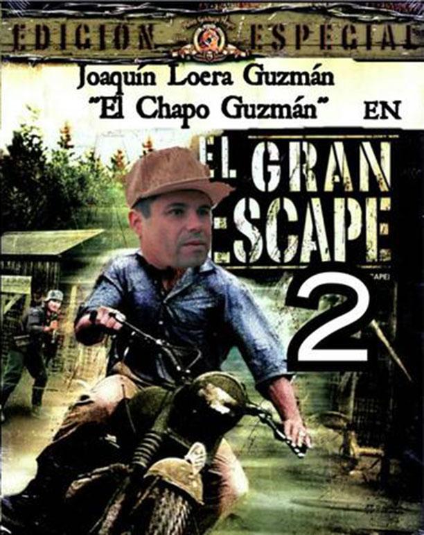 MEME CHAPO GRAN ESCAPE