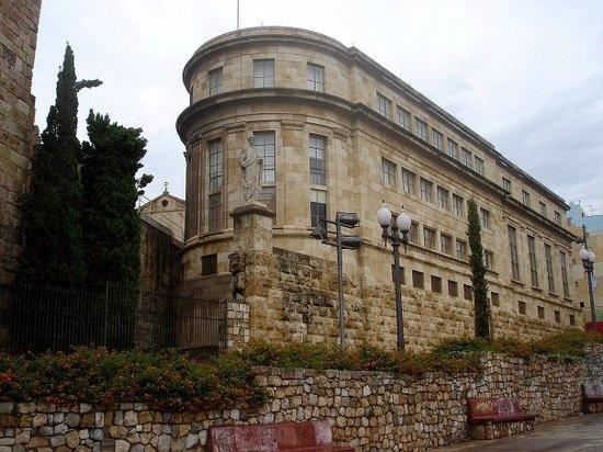 El museo arqueológico de Tarragona (Foto: internet).