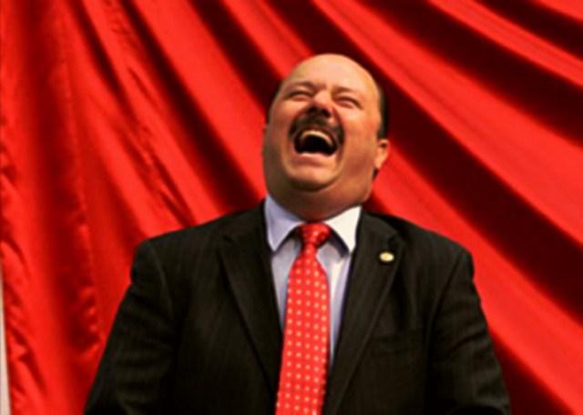 El gobernador de Chihuahua (Foto: El Digital de Parral).