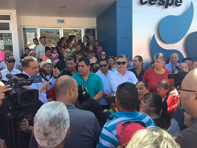 CESPE PROTESTA REYES PABLO ARTURO