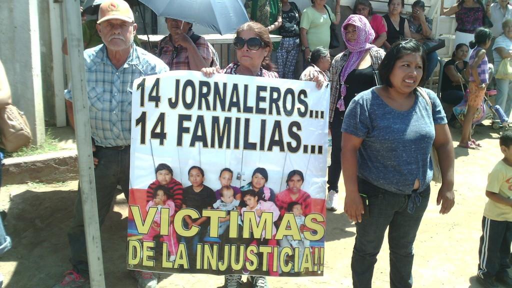 JORNALEROS PROTESTA CARCEL EDA-AGOSTO2015