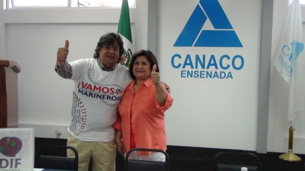 El dirigente de la Canaco en Ensenada, Rafael Chávez (Foto: Cortesía CANACO-Ensenada).