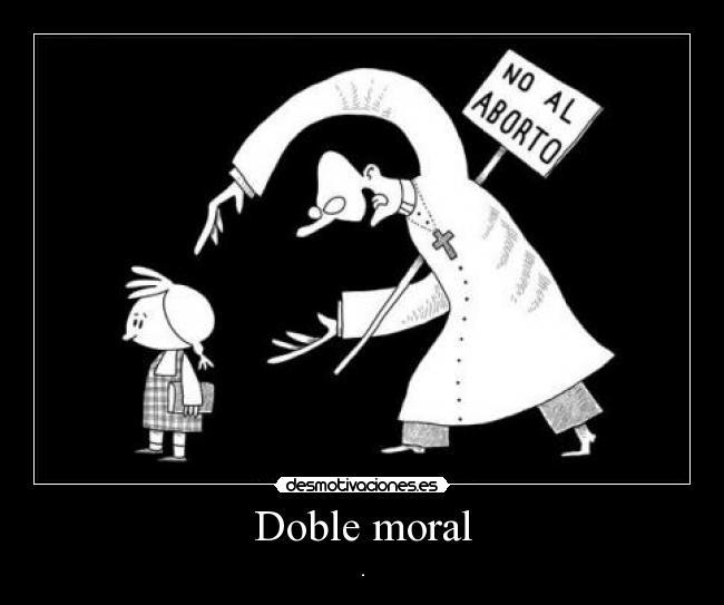 DOBLE MORAL SACERDOTE PEDOFILO