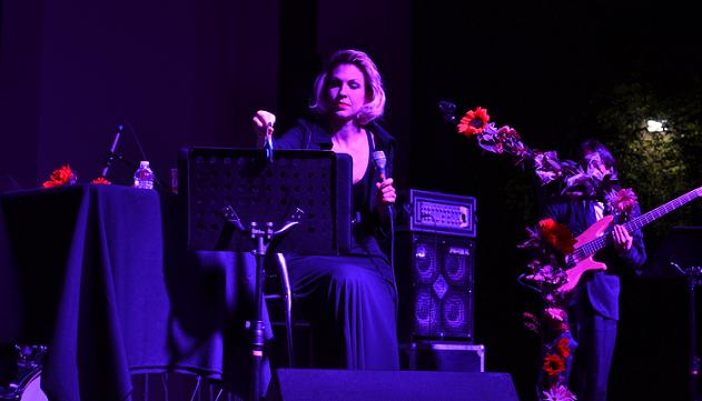 La interprete Karen Sousa (Foto: ICBC).