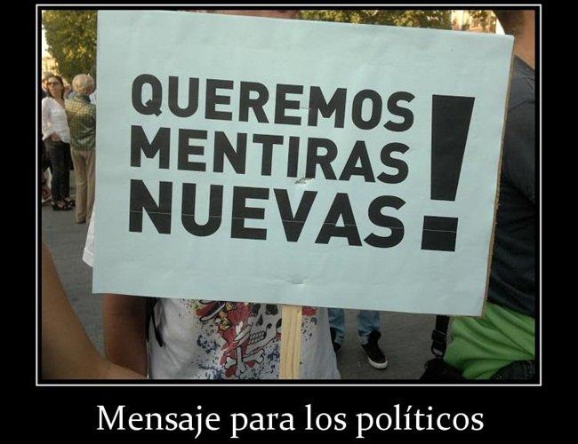 MENTIROSOS POLITICOS CARTEL