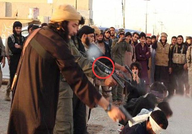 ISIS EJECUCION MASIVA