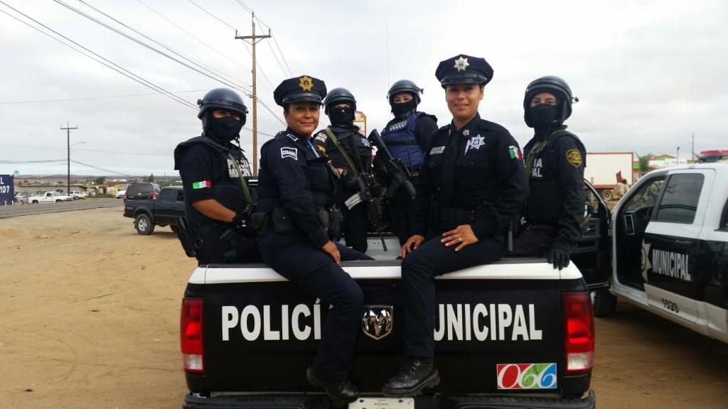 POLICIA MUNICIPAL EN SAN QUINTIN